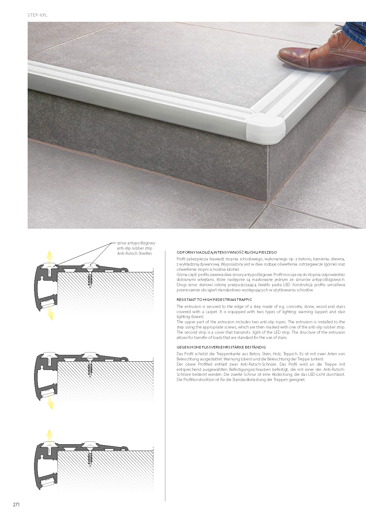 Profil LED STEP | Shop Treppenbeleuchtung.info