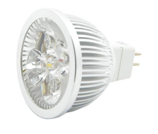 MR16 LED Lampe 4x1W kaltweiß 12V 320lm