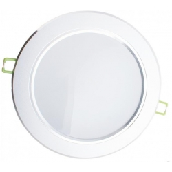 DOWNLIGHT LED 12W - 4000K - neutralen - silbernes Gehäuse