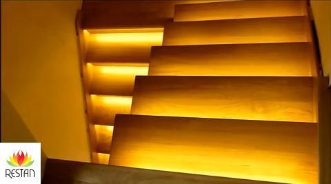 Beleuchtung der Treppe mit Hilfe von einen kompletten Set | Shop ...